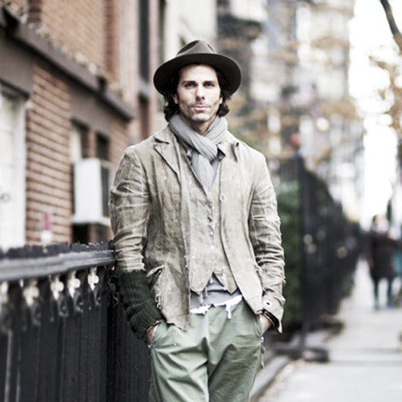 Greg Lauren article feature