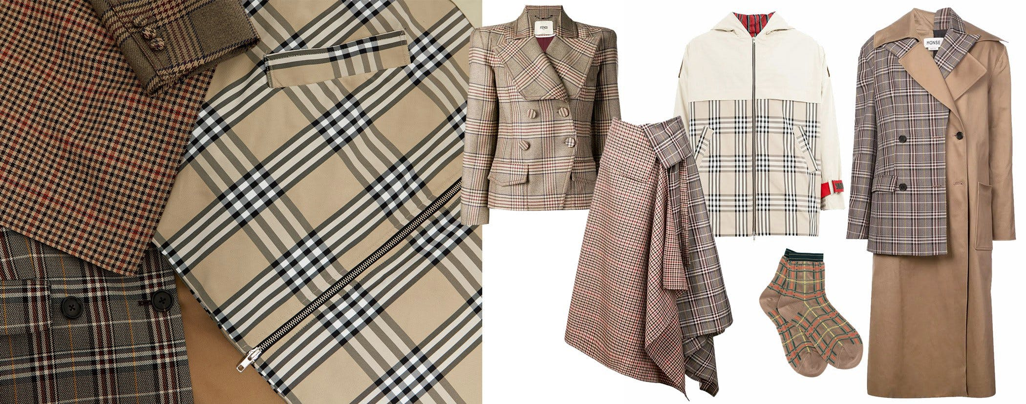 leclaireur-checks-beige-fw18
