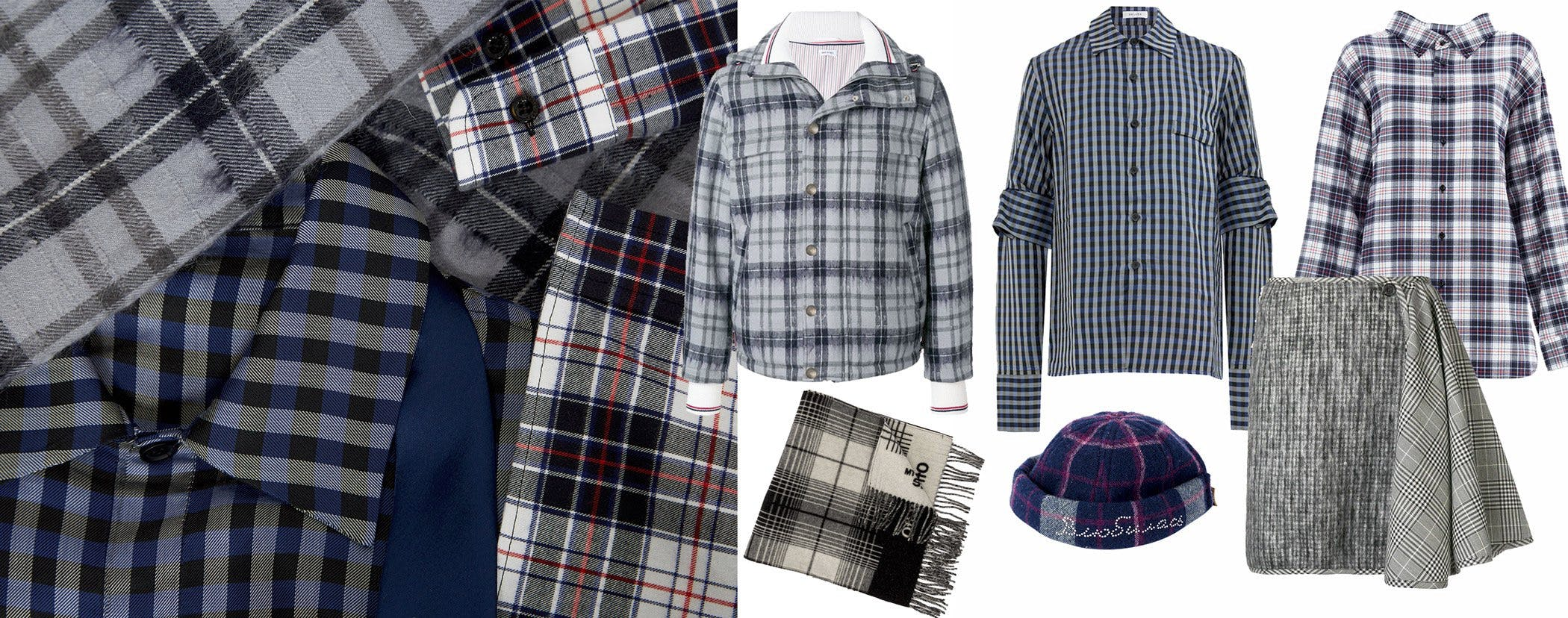 leclaireur-checks-blue-fw18